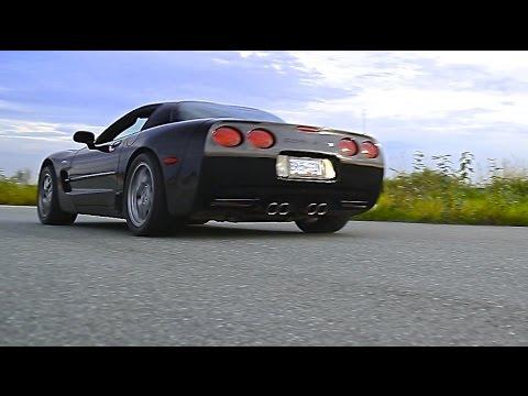 C5 Corvette Z06 Rips Up Autocross   Pitt Meadows Airport