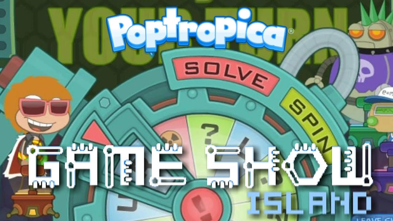 A RELAXING EVENING OF POPTROPICA WITH NOAH | Game Show Island