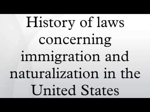 The History of Immigration Policies in the U.S.