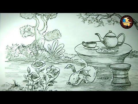 Tutorial Menggambar Flora Fauna Dan Alam Benda Youtube