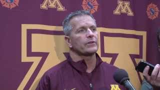 Gopher Hockey, Don Lucia Preview Minnesota State Mankato Series