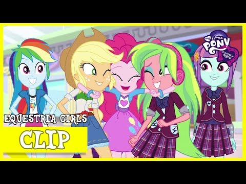 The Crystal Rainbooms Win The Prize - MLP: Equestria Girls Specials – Dance Magic [HD]
