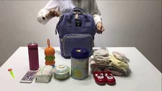 Balo đựng đồ cho mẹ và bé Maitedi - gọn gàng, tiện dụng mỗi khi bé ra ngoài