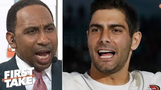 Stephen A.: I'm not a Jimmy Garoppolo hater! | First Take