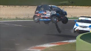 Smart EQ Fortwo E-Cup 2019. Race 2 Vallelunga Circuit (2). Final Laps | WTF