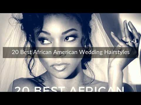 20 Best African American Wedding Hairstyles