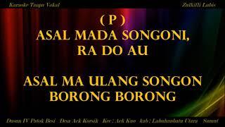 Download lagu MARSARAK TUMBILANG KARAOKE TAPSEL DUET TANPA VOKAL MP3