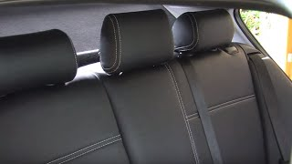 ZACASI Trailer - the perfect leather look - tailor-made car seat covers leather seats trim
