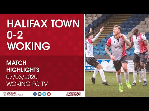 Halifax Woking Goals And Highlights