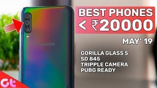 TOP 5 BEST PHONES UNDER 20000 (May 2019)   GT Hindi