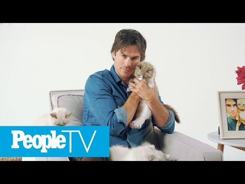 Ian Somerhalder Shares His Love For Animals | PeopleTV