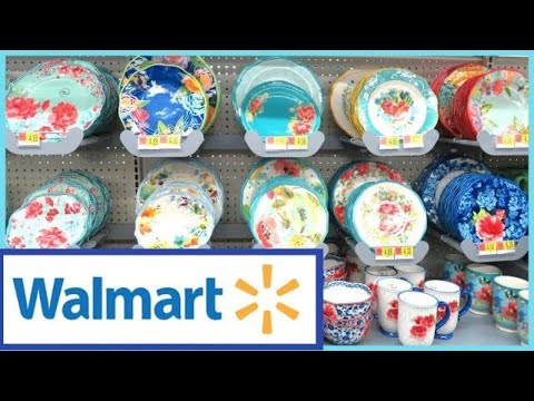 WALMART NEW PIONEER WOMAN SHOP WITH ME