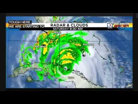 Hurrucane Irma in Real Time