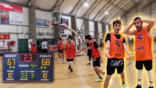 FaZe Rug PLAYS ON MY BASKETBALL TEAM! *Got Kicked Out*