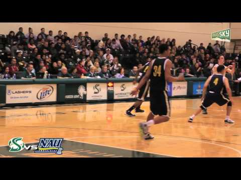Sacramento State vs Northern Arizona University Mens Basketball - Big Sky Conference 2014