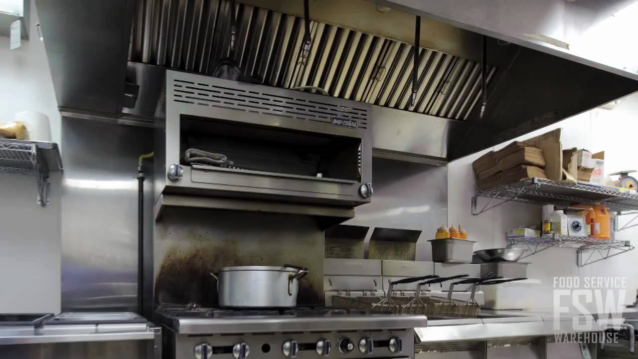 Countertop Ventilation Systems : Equipex Countertop Exhaust System Video (SAV-G PALI) - YouTube