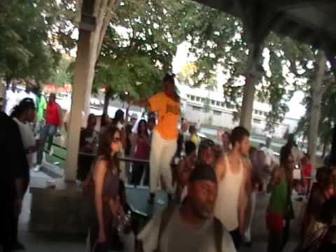 Green House, Atlanta House Music festival in Piedmont Park 07.18.09