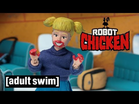 Robot Chicken | Super Space Leia | Adult Swim UK 🇬🇧 from YouTube · Duration:  52 seconds