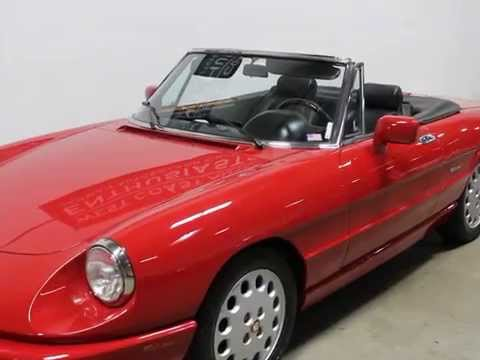 Alpha Romeo Spider Ce YouTube - 1994 alfa romeo spider