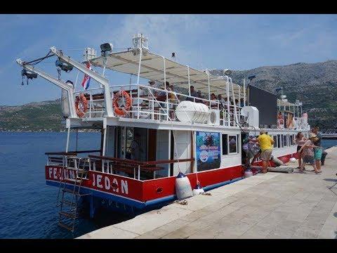 Chorvatsko 2017 : Drvenik - Korčula cruise