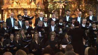 AVE VERUM DE MOZART. Coro Fundacion Princesa Asturias. Iglesia del Carmen. Cádiz 30.04.15