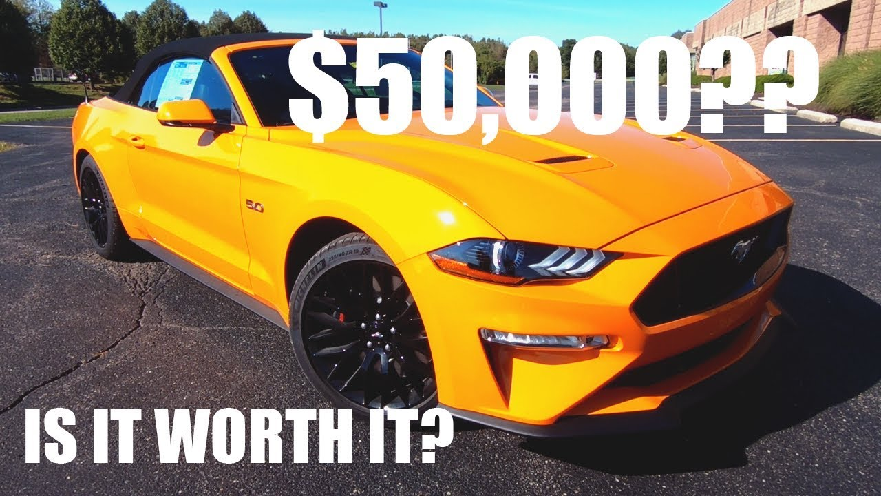Is the 2019 ford mustang gt premium worth the 50000 price tag vas reviews ep 5