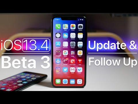 iOS 13.4 Beta 3 - Follow Up Review