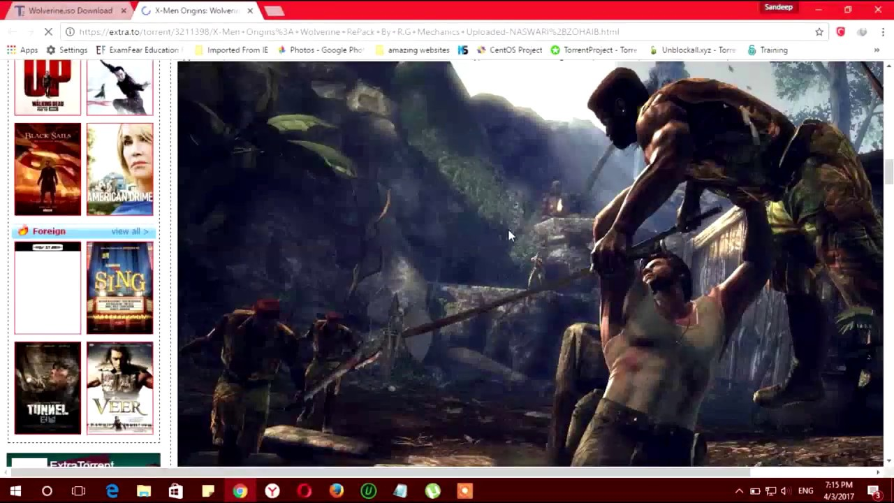 How to download x men origins wolverine free for pc youtube.