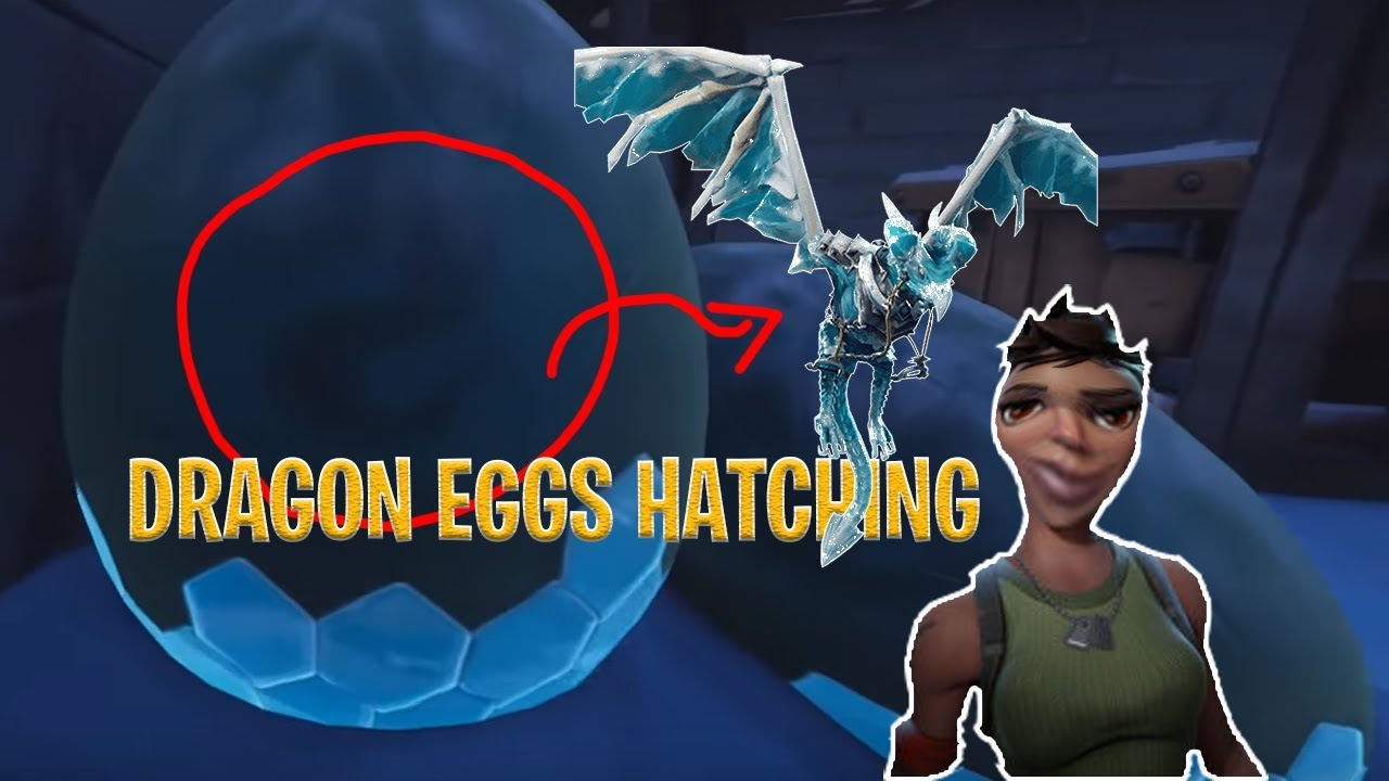 dragon eggs hatching in fortnite hidden objects - fortnite dragon eggs hatching