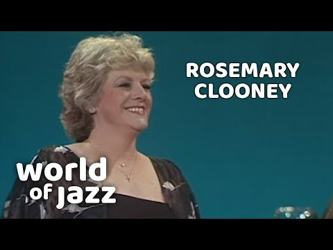 Rosemary Clooney, Second concert,  North Sea Jazz Festival • 10-07-1981 • World of Jazz