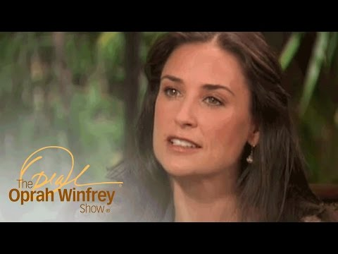 Demi Moore Shares a Lesson About Showing Vulnerability to Your Kids | The Oprah Winfrey Show | OWN