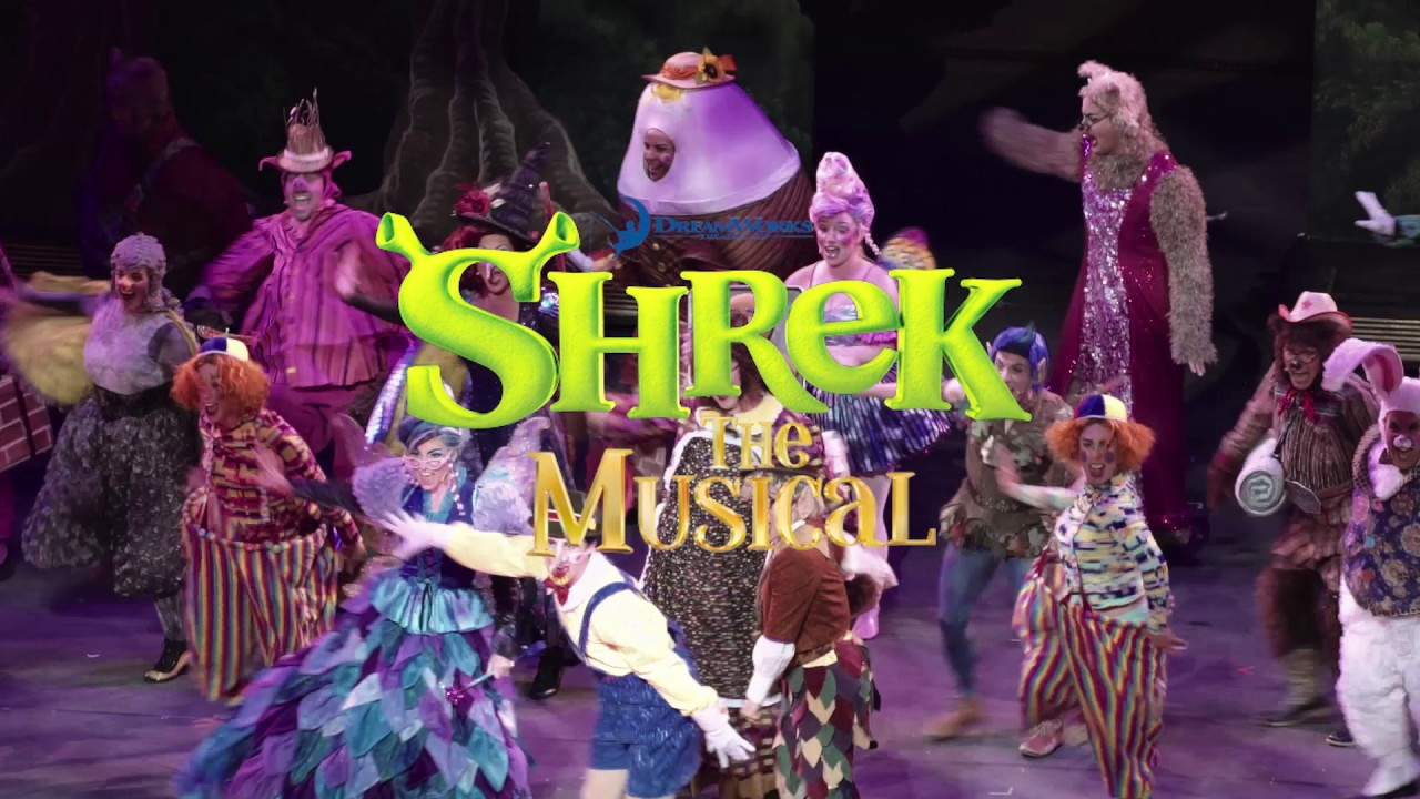 Tuacahn's Production Of Shrek The Musical!