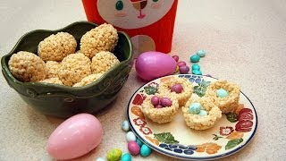 How To Make Rice Krispies Easter Egg Treats