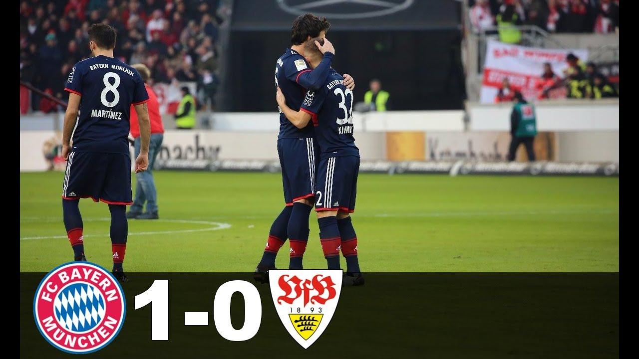 Bayern Stuttgart Highlights