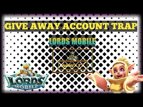 Give Away Account SOLO TRAP LORDS MOBILE