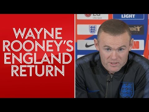 Wayne Rooney's England press conference ahead of farewell game against the USA