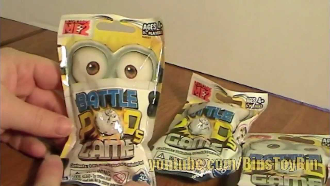 Despicable Me 2 Minions Battle Pods Blind Bags Opening