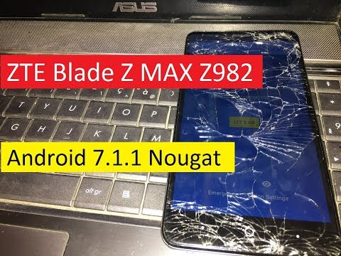 How To Bypass Google Lock (FRP) ZTE Blade Z MAX Z982 Android 7 1 1 Nougat