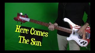 Here Comes The Sun - Isolated Bass Guitar