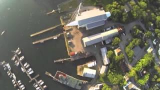 Superyacht Asolare Repair Work
