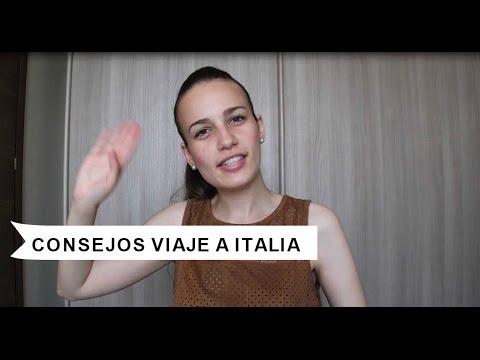 COSAS QUE HAY QUE SABER ANTES DE VIAJAR A ITALIA /CONSEJOS VIAJE A ITALIA