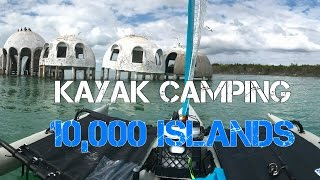 kayak camping the 10 000 islands of florida gulf