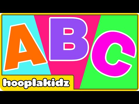 ABC Song  ABC Songs For Children  Hooplakidz