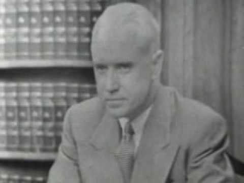 LONGINES CHRONOSCOPE [WITH DR. JULES BACKMAN], TELEVISION INTERVIEW: William Bradford Huie and D...