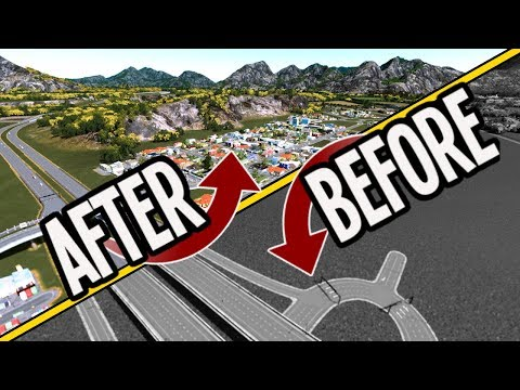 How To Start A City To Make $$$ & No Traffic In Cities Skylines!