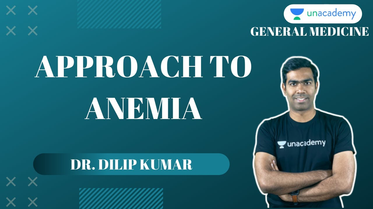 NEET PG   General Medicine   Approach to Anemia By Dr Dilip KUmar