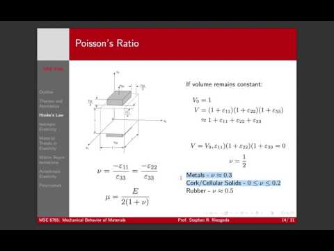 Lecture 3 Part 3 Isotropic Elasticity