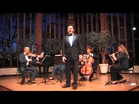 Tenor Gérard Fauvelle opera Arias concert may 10th 2014 Ottawa