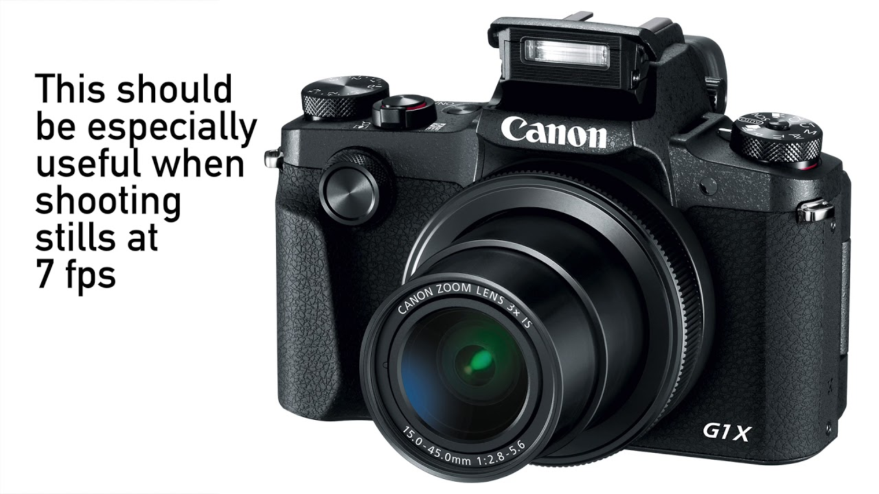 Meet the Canon PowerShot G1 X Mark III - YouTube