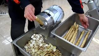 야채절단기-우엉어슷썰기( 45도 4mm)